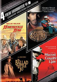 4 Film Favorites:Country Westerns - (Region 1 Import DVD)