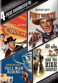 4 Film Favorites:Randolph Scott Weste - (Region 1 Import DVD)