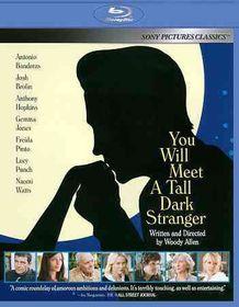 You Will Meet a Tall Dark Stranger - (Region A Import Blu-ray Disc)
