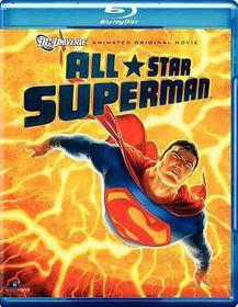 All Star Superman - (Region A Import Blu-ray Disc)