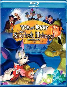 Tom and Jerry Meet Sherlock Holmes - (Region A Import Blu-ray Disc)