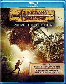 Dungeons & Dragons/D&d:Wrath Dragon - (Region A Import Blu-ray Disc)