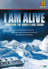 I Am Alive:Surviving the Andes Plane - (Region 1 Import DVD)