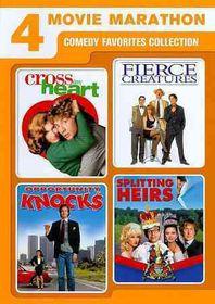 4 Movie Marathon:Comedy Favorites Col - (Region 1 Import DVD)