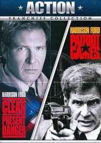 Clear and Present Danger/Patriot Game - (Region 1 Import DVD)