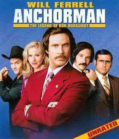 Anchorman:Legend of Ron Burgundy - (Region A Import Blu-ray Disc)