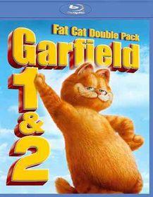 Garfield:Movie/Garfield:Talk of Two K - (Region A Import Blu-ray Disc)