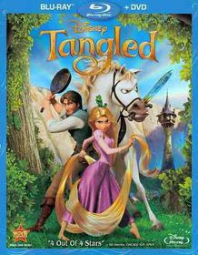 Tangled - (Region A Import Blu-ray Disc)