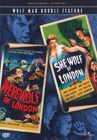 Wolfman Double Feature - Werewolf of London/She-Wolf of London - (Region 1 Import DVD)