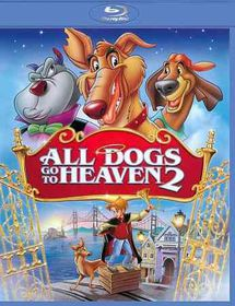 All Dogs Go to Heaven - (Region A Import Blu-ray Disc)