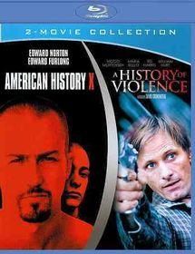 American History X/History of Violenc - (Region A Import Blu-ray Disc)