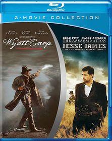 Wyatt Earp/Assassination of Jesse Jam - (Region A Import Blu-ray Disc)