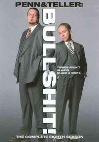 Penn & Teller:Bullshit Season 8 - (Region 1 Import DVD)