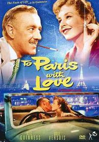 To Paris with Love - (Region 1 Import DVD)