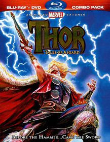 Thor:Tales of Asgard - (Region A Import Blu-ray Disc)