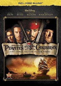 Pirates of the Caribbean:Curse of the Black Pearl - (Region A Import Blu-ray Disc)