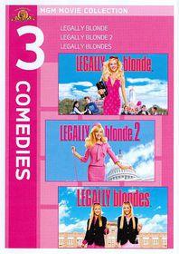 Legally Blonde Triple Feature - (Region 1 Import DVD)
