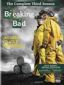 Breaking Bad:Complete Third Season - (Region 1 Import DVD)