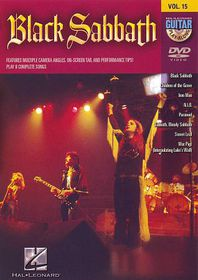 Guitar Play Along:Black Sabbath - (Region 1 Import DVD)