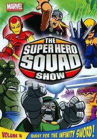 Super Hero Squad Show:Quest for T V 4 - (Region 1 Import DVD)