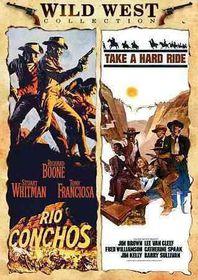 Rio Conchos/Take a Hard Ride - (Region 1 Import DVD)