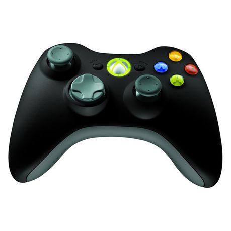 Microsoft Xbox 360 Black Wireless Controller for Windows (PC)
