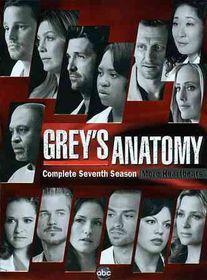 Grey's Anatomy:Season 7 - (Region 1 Import DVD)