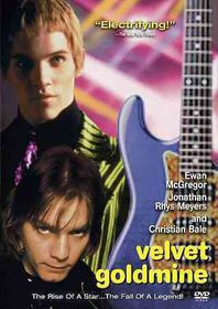 Velvet Goldmine - (Region 1 Import DVD)