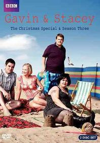 Gavin & Stacey:Season Three/Xmas Spec - (Region 1 Import DVD)