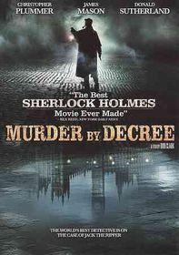 Murder by Decree - (Region 1 Import DVD)