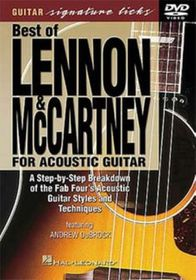 Acoustic Guitar-Lennon/Mccartn - (Import DVD)