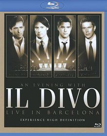 An Evening with Il Divo - Live in Barcelona - (Australian Import Blu-ray Disc)