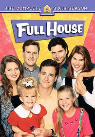Full House:Complete Sixth Season - (Region 1 Import DVD)