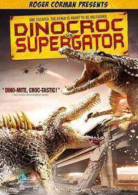 Dinocroc Vs Supergator - (Region 1 Import DVD)