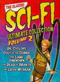 Classic Sci Fi Collection Vol 2 - (Region 1 Import DVD)