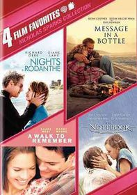 4 Film Favorites:Nicholas Sparks Roma - (Region 1 Import DVD)