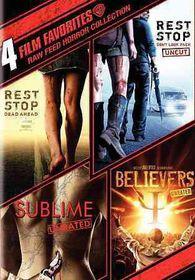 4 Film Favorites:Raw Feed Horror - (Region 1 Import DVD)