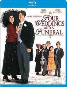 Four Weddings and a Funeral - (Region A Import Blu-ray Disc)