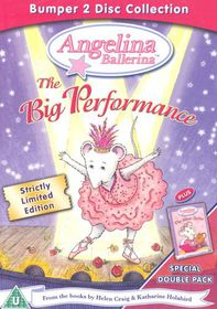 Angelina Ballerina-Big Perform (2 Discs - Limited) - (Import DVD)