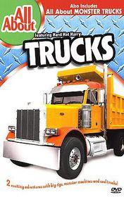All About Trucks & Monster Trucks - (Region 1 Import DVD)