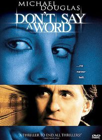 Don't Say a Word - (Region 1 Import DVD)