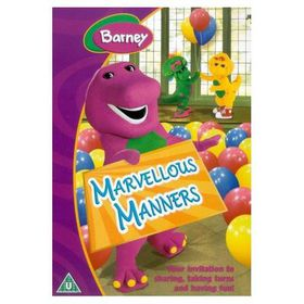 Barney - Marvellous Manners - (Import DVD)