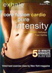 Exhale:Core Fusion Cardio Pure Intens - (Region 1 Import DVD)