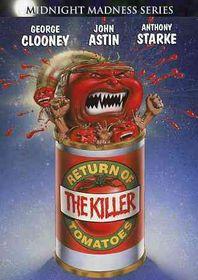 Return of the Killer Tomatoes - (Region 1 Import DVD)