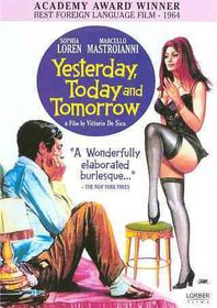 Yesterday Today & Tomorrow - (Region 1 Import DVD)
