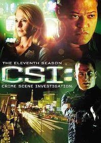 Csi:Crime Scene Investigation 11th Ss - (Region 1 Import DVD)