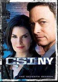 Csi:Ny Complete Seventh Season - (Region 1 Import DVD)