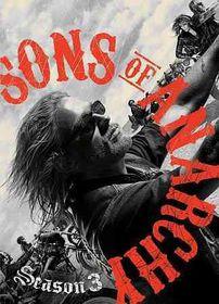 Sons of Anarchy Season 3 - (Region 1 Import DVD)