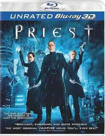 Priest (3d) - (Region A Import Blu-ray Disc)