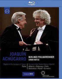 Achucarro & Rattle:Nights in the Gard - (Region A Import Blu-ray Disc)